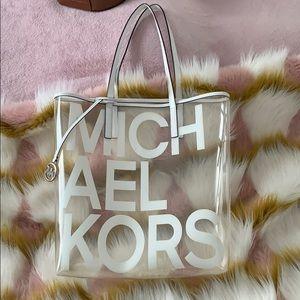 Michael Kors - Large White Tote Bag